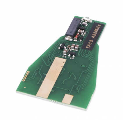 TA13 - PCB for Mercedes IR key fob case small size. Frequency - 433 Mhz