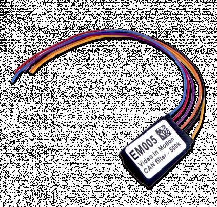 EM005 - ABRITES Video in Motion CAN Filter 500k