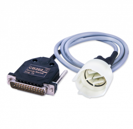 CB202 - AVDI cable for connection with Suzuki Marine Engines type 2 (round)